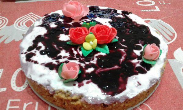 """""""Cheesecake Alla Marmellata E Yogurt (Senza Burro,Panna,Uova E Zucchero)…!!!"""