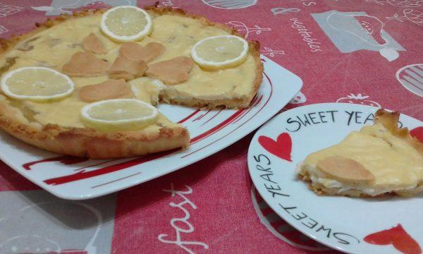 """""""Crostata Al Limone Senza Burro""""…!!!"""