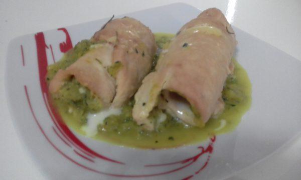"""""""Rotolini Di Pollo Con Crema Alle Zucchine""""…!!!"""