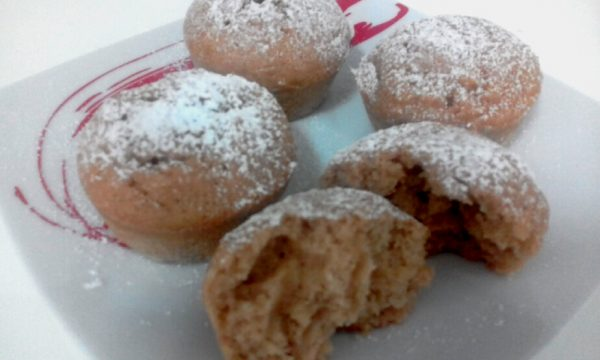 """Muffin Alle Mele Frullate Senza Burro""…!!!"