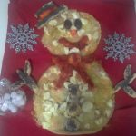 """Torta Salata Pupazzo Di Neve""…!!!"