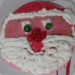 """""""Torta Babbo Natale Con Crema Al Cioccolato E Panna""""…!!!"""