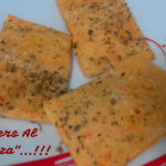 """Crackers Al Gusto Pizza""…!!!"