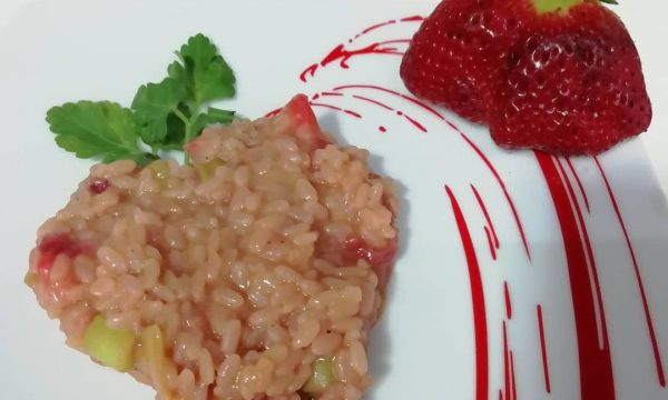 """Risotto Alle Fragole""…!!!"