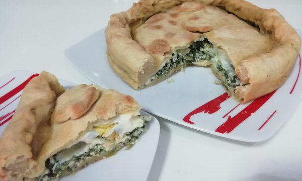 """""""Torta Pasqualina Con Ricotta E Spinaci""""…!!!"""