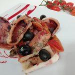 """Calamari In Umido Con Capperi,Olive E Pomodorini""…!!!"