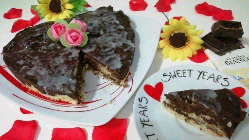 Torta Savoia Dolce Siciliano Ai Tre Cioccolati