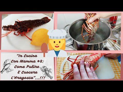 Come Pulire E Cuocere L' Aragosta