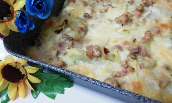 Lasagne Bianche Al Cavolo Cappuccio-Verza E Ragù Di Carne