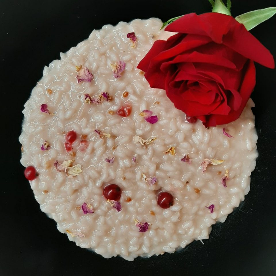 risotto rose ribes rosè