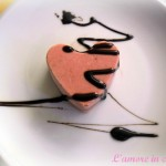 Gelatini panna e fragole