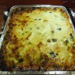 Lasagne ai 4 formaggi con zucchine