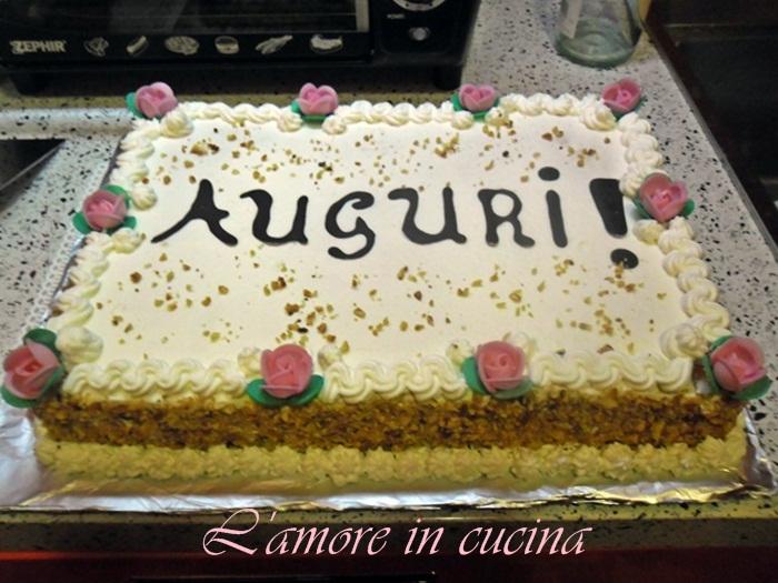 La Torta Dei Miei 18 Anni L Amore In Cucina