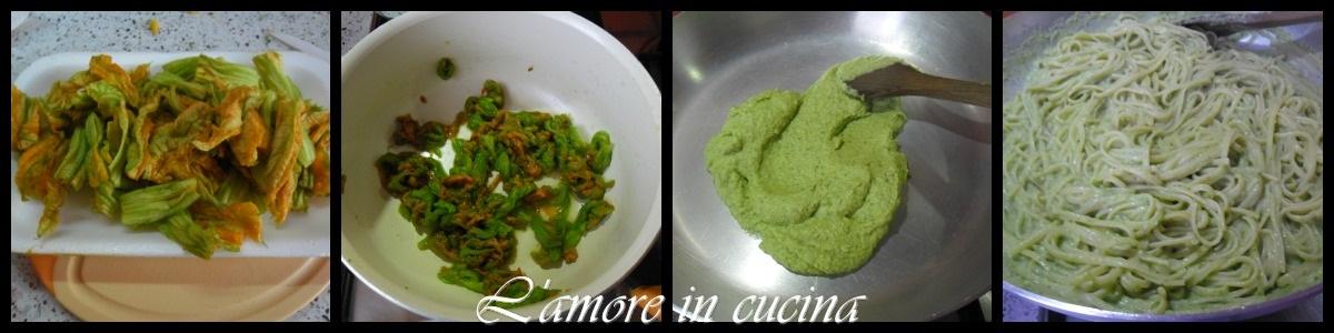 pasta cremosa zucchine