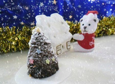 Alberelli di cioccolato, dolcetti natalizi
