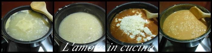 riso sugo e mozzarella