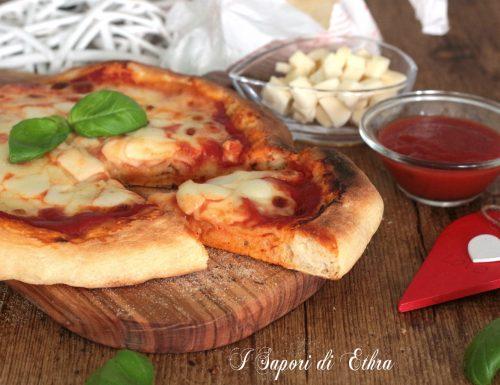 Pizza  margherita cotta con il fornetto Ferrari