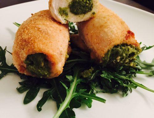 Involtini di pollo alle verdure