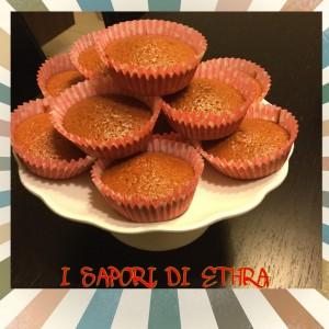 Muffin alla vaniglia e pezzetti di cioccolato