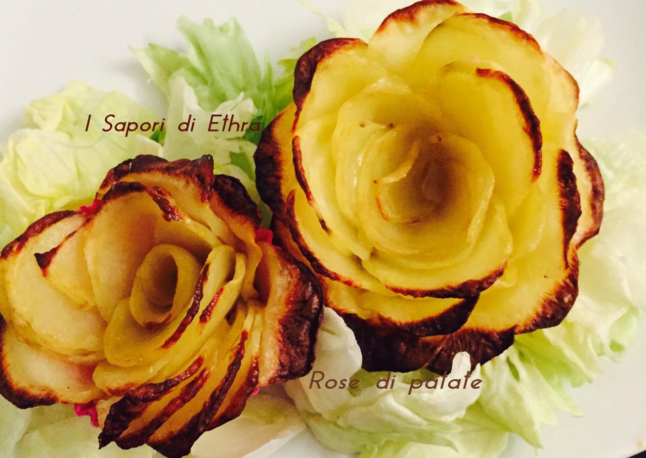Rose di patate i sapori di ethra - Modi per cucinare patate ...