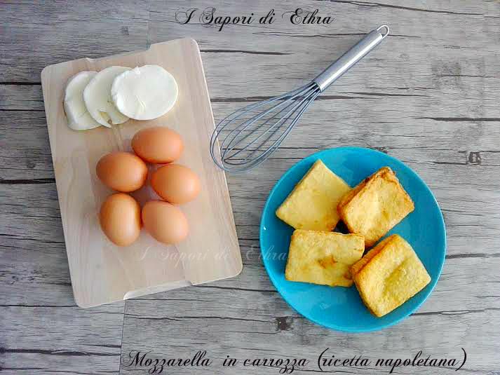 Mozzarella  in carrozza (ricetta napoletana)