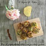 Rose di sfoglia ricetta veloce con zucchine e patate
