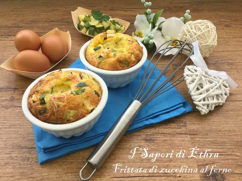 Frittata di zucchine al forno a forma di ciambelle - I Sapori di Ethra