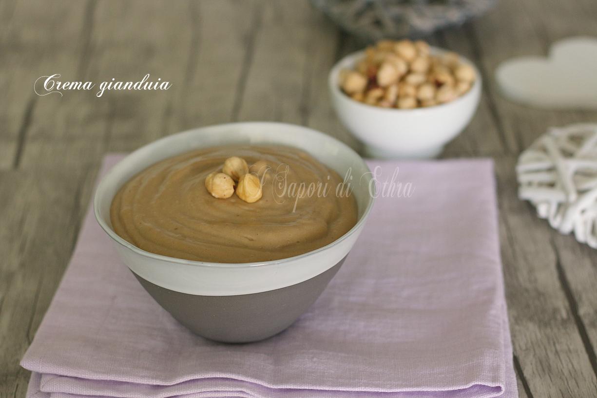 Crema gianduia ricetta per farcire torte - I Sapori di Ethra