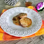 Lonza di maiale al forno con salsa al miele e arancia