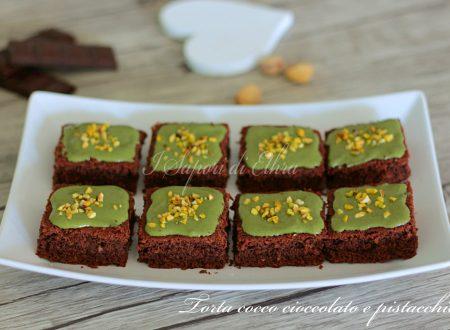 Torta cocco cioccolato e pistacchio ricetta facile - I Sapori di Ethra