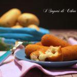 Crocchette di patate ripiene di mozzarella