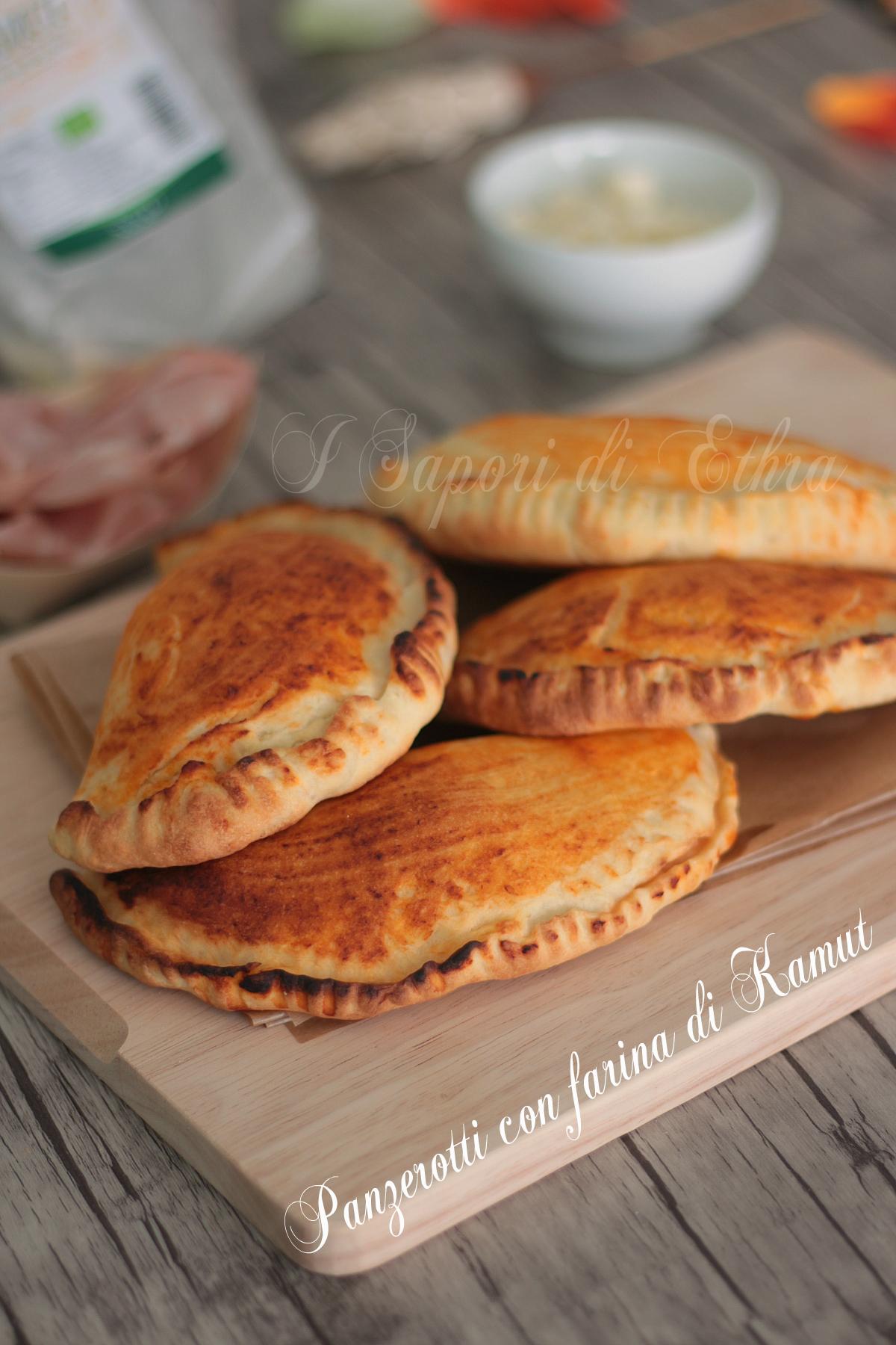 Ricetta panzerotti al forno con farina di Kamut