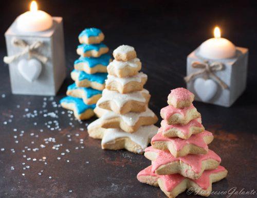 Biscotti natalizi decorati ricetta facile