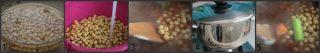 zuppa di ceci collage