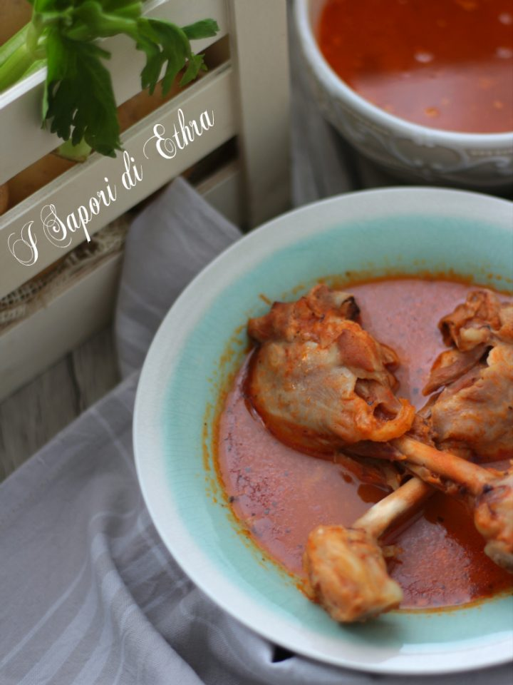 Come cucinare le cosce di pollo in brodo i sapori di ethra - Come cucinare le cosce di pollo in padella ...