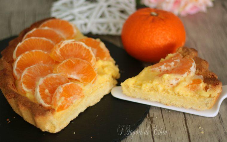 Crostata friabile al tacle e crema pasticcera