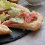 Impasto poolish pizza limone cotto e insalata