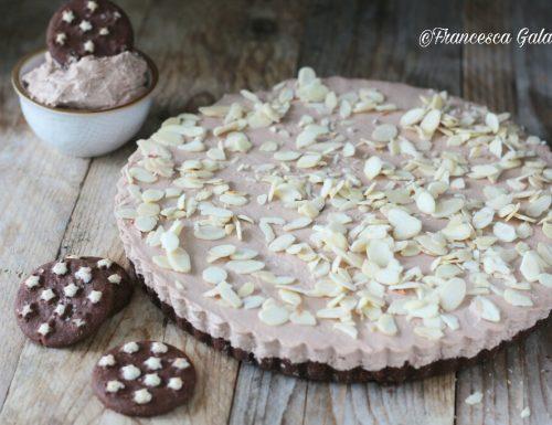 Dolce senza cottura con biscotti al cioccolato