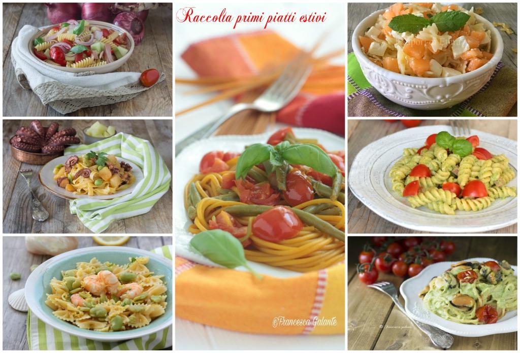 Primi piatti estivi veloci e semplici i sapori di ethra for Primi piatti semplici