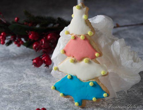 Biscotti albero di Natale da regalare