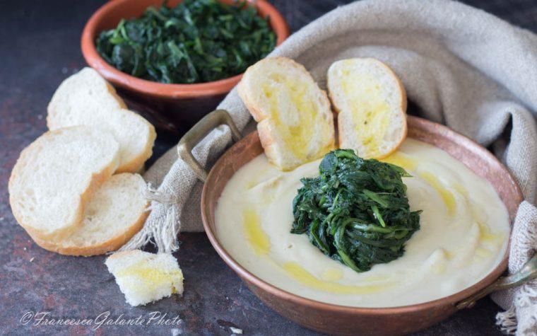 Fave e cicoria ricetta pugliese tradizionale