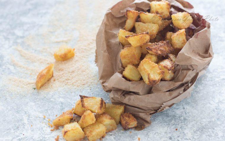 Patate sabbiose al forno croccantissime