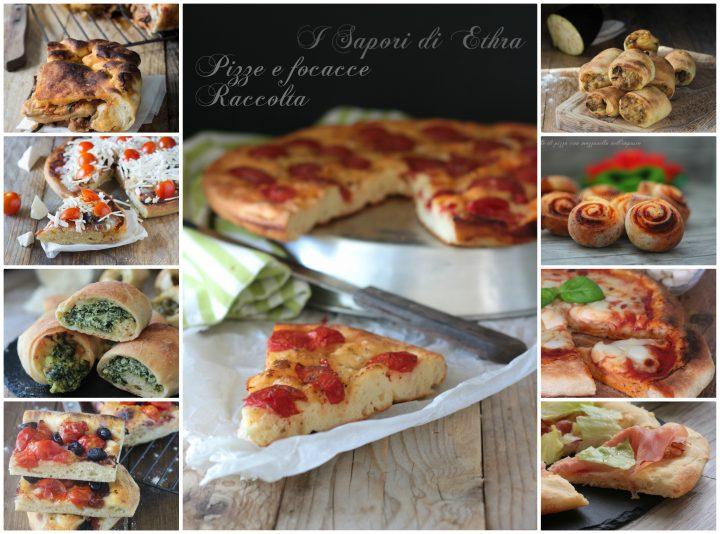 Pizze e focacce raccolta I Sapori di Ethra