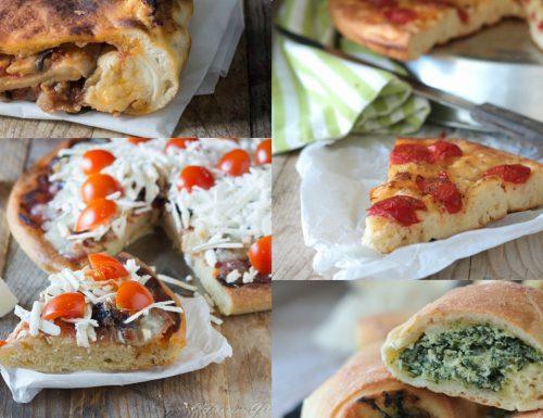 Focacce farcite e pizze raccolta I Sapori di Ethra