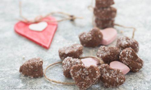 Cioccolatini San Valentino morbidi all'amaretto