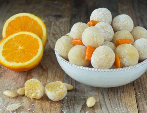 Petit fours all'arancia di Teresa Doria