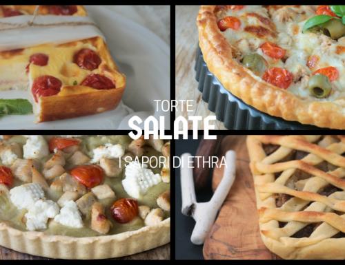 Torte salate  ricette veloci e gustose