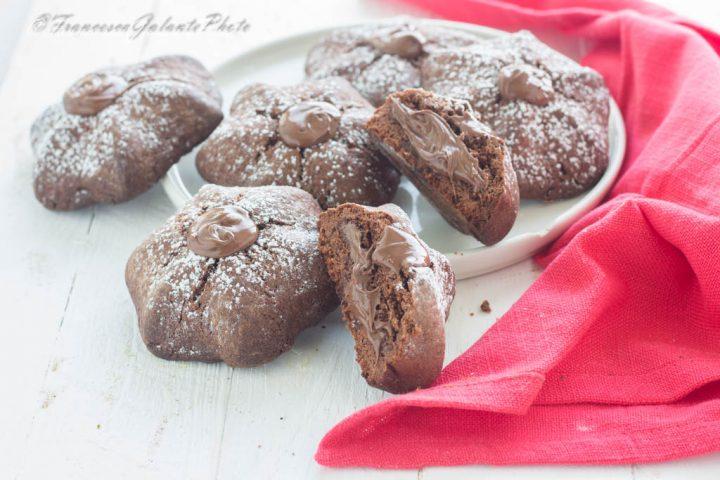 Dolcetti al cioccolato nutellosi veloci
