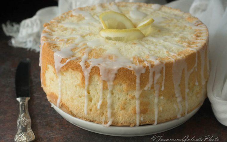 Lemon chiffon cake ricetta perfetta