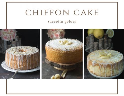 Ricetta torta chiffon cake raccolta golosa